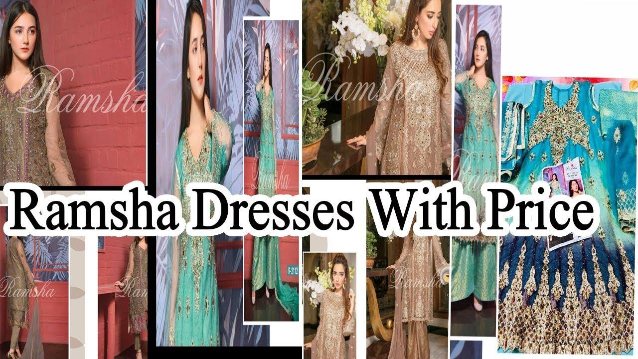b2b977426875 Buy Party Wear Dress Online 2018   Latest Designer Dresses For Girls    Ramsha Dresses