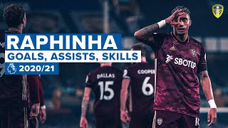 Raphinha: BEST SKILLS, ASSISTS AND GOALS | 2020/21 Premier League season