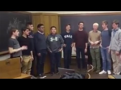 What happens when a cappella meets a popular Chinese song?