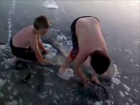 Trevor Collin Brooks Wave in Sand