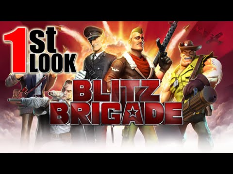 Blitz Brigade - Team Fortress 2 for Mobile? SWEET ! (1st Look iOS Gameplay)