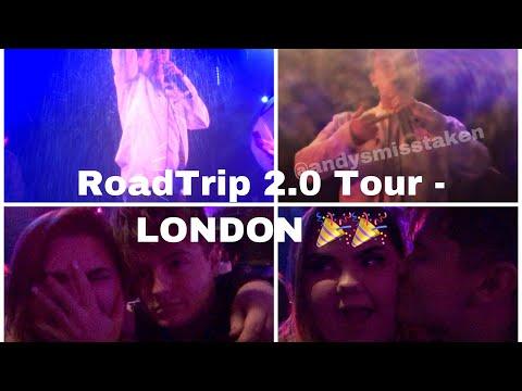 RoadTrip 2.0 Tour London VIP! - Andy Made Me Wet ⚠️