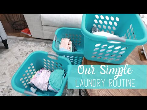 Laundry Routines 2019   Easy Laundry Tips & Hacks   Our Weekly Laundry Routine   Our Blessed Life
