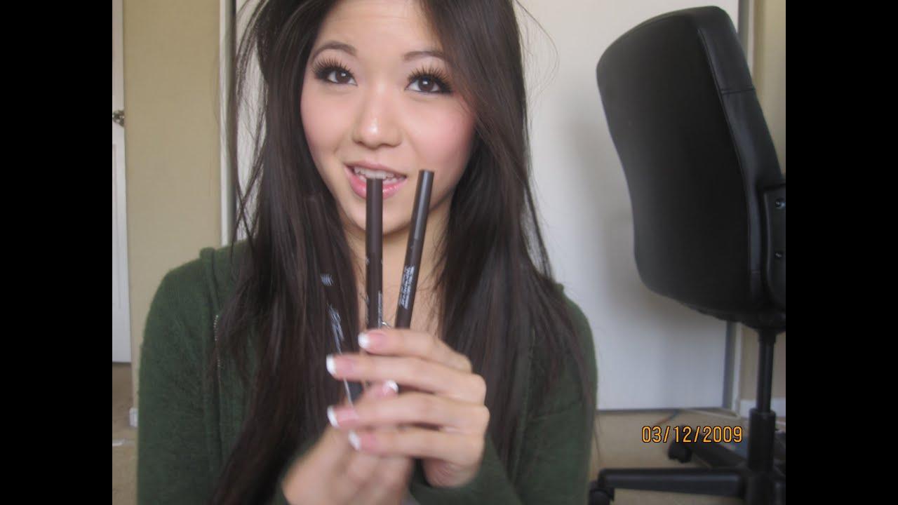 My Eyebrow Pencil Etude House Drawing Eye Brow Youtube