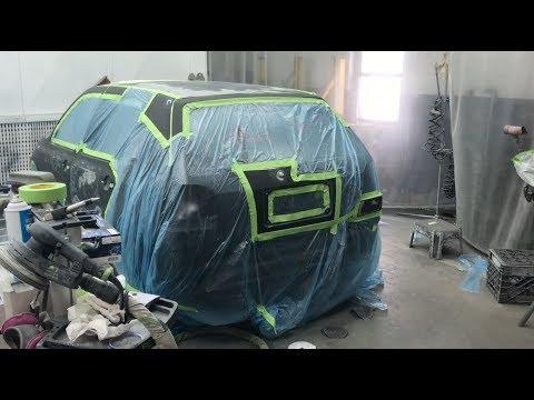 Matt's Pink Floyd VW Repaint - DAY 7!