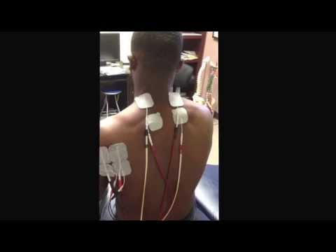 Newport News VA Chiropractor:  Back, neck, and shoulder pain relief with electrical stimulation