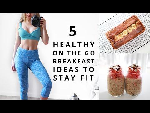 Healthy Breakfast Ideas | Fitness Food | On The Go Breakfast For School, Work
