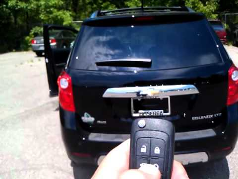 Chevy Equinox Liftgate, Power, How to Program - YouTube on