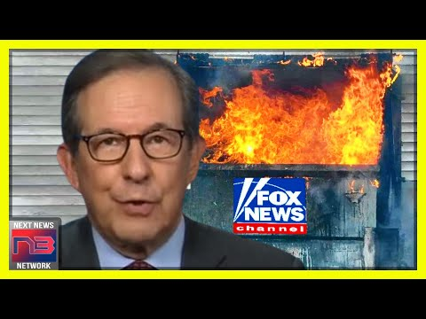 Chris Wallace THROWS Gas on the Fox News Dumpster Fire Sealing Their Fate Forever