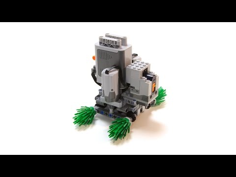 Experiment of various wheels : LEGO Technic