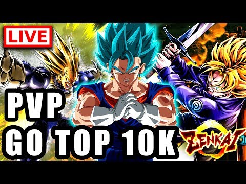 🔴 PVP pour le TOP 10K DRAGON BALL LEGENDS