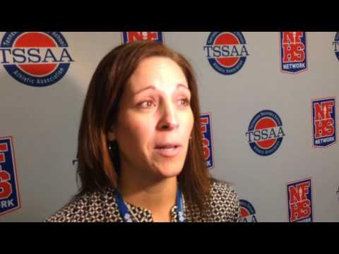 Paige Green discusses Oak Ridge's state quarterfinal win