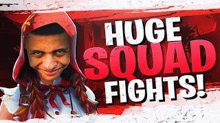 HUGE Squad Fights! New Fable Skin Gameplay (Fortnite BR Full Match)
