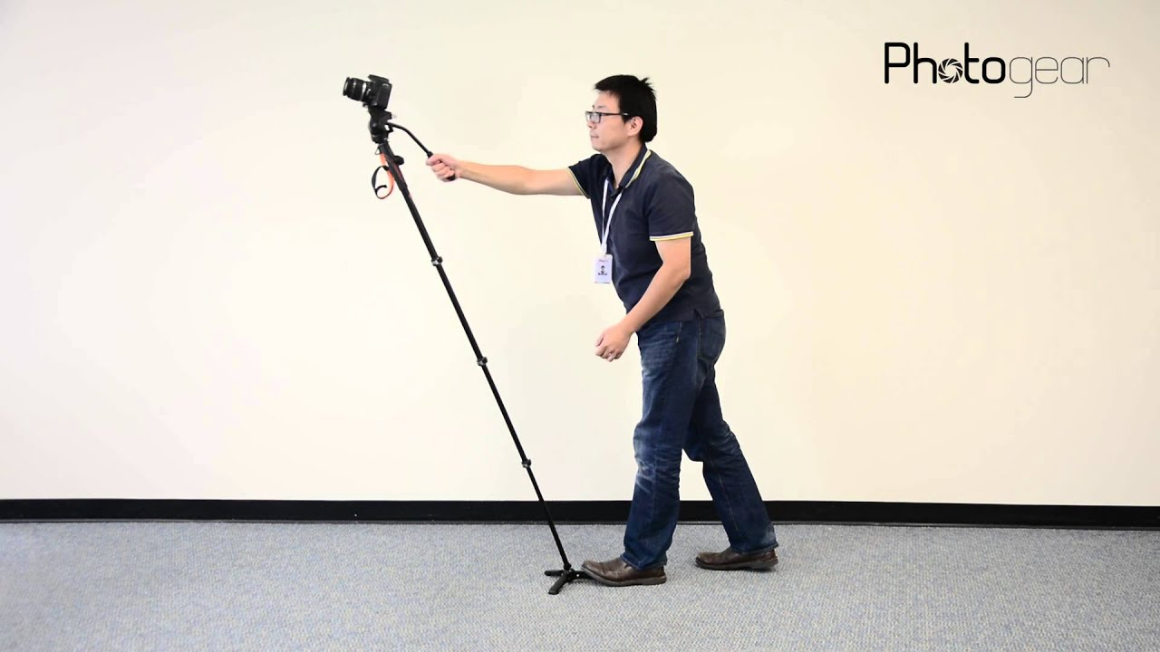 A compact and easy-to-use fluid video monopod for any shooting environment. Featuring a fuss-free setup, lightweight design, and fluid cartridge for smooth.