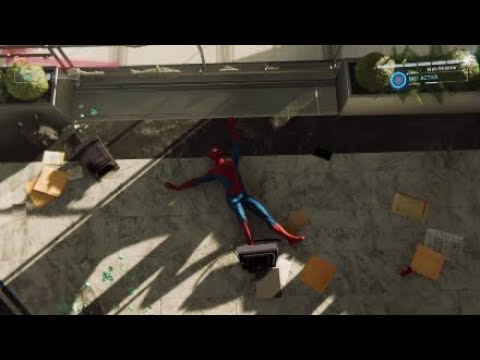 Spider-Man PS4 Ragdoll Death animation and fails part 1