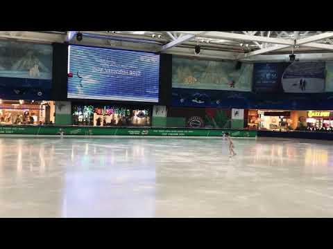 Linh Chi - Vietnam Figure Skating 2017