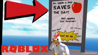 BUYING THE RED APPLE!!! | Roblox Natural Disaster Survival iOS Gameplay