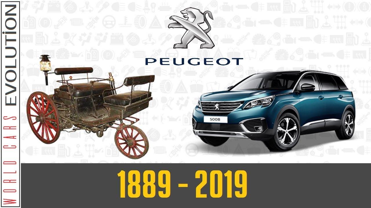W.C.E - Peugeot Evolution (1889 - 2019)