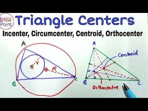 Geometry - Types Of Center Of Triangle || CGL CPO CHSL BANKING TET RAILWAYS EXAMS