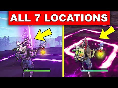 """Visit All Of The Corrupted Areas"" – ALL 7 LOCATIONS WEEK 2 CHALLENGES FORTNITE SEASON 6"