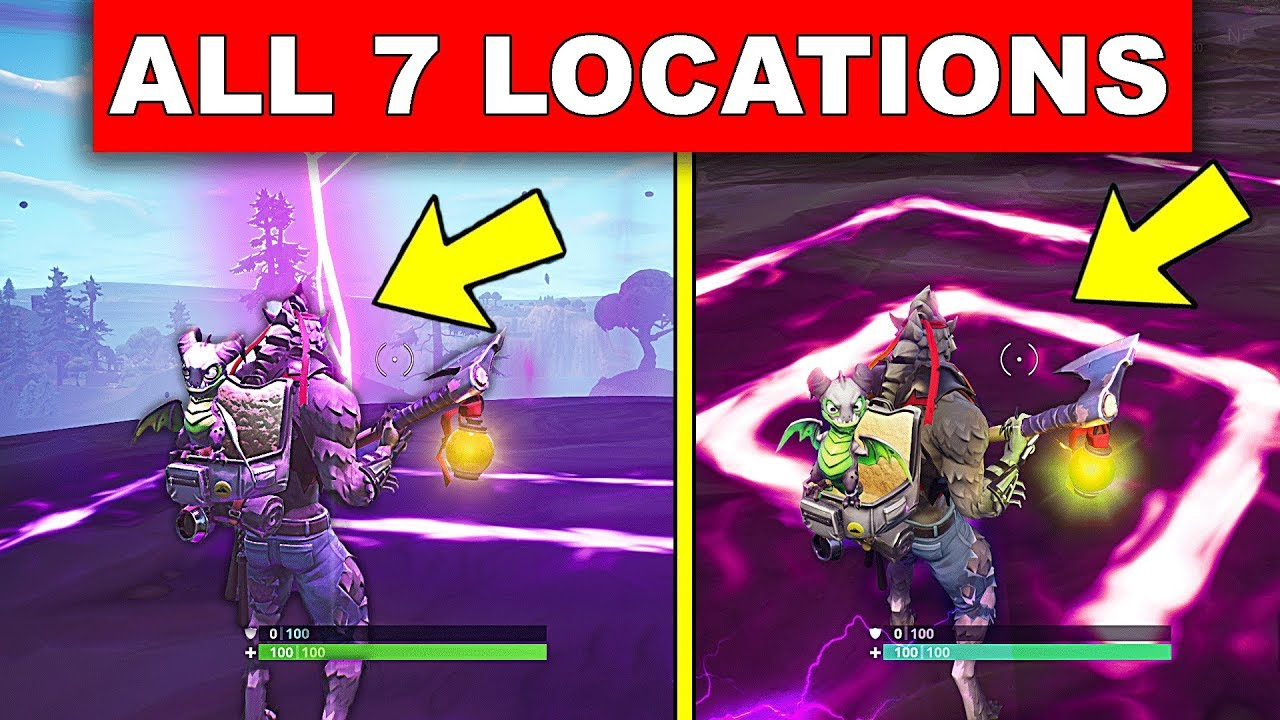 Visit All Of The Corrupted Areas All 7 Locations Week 2