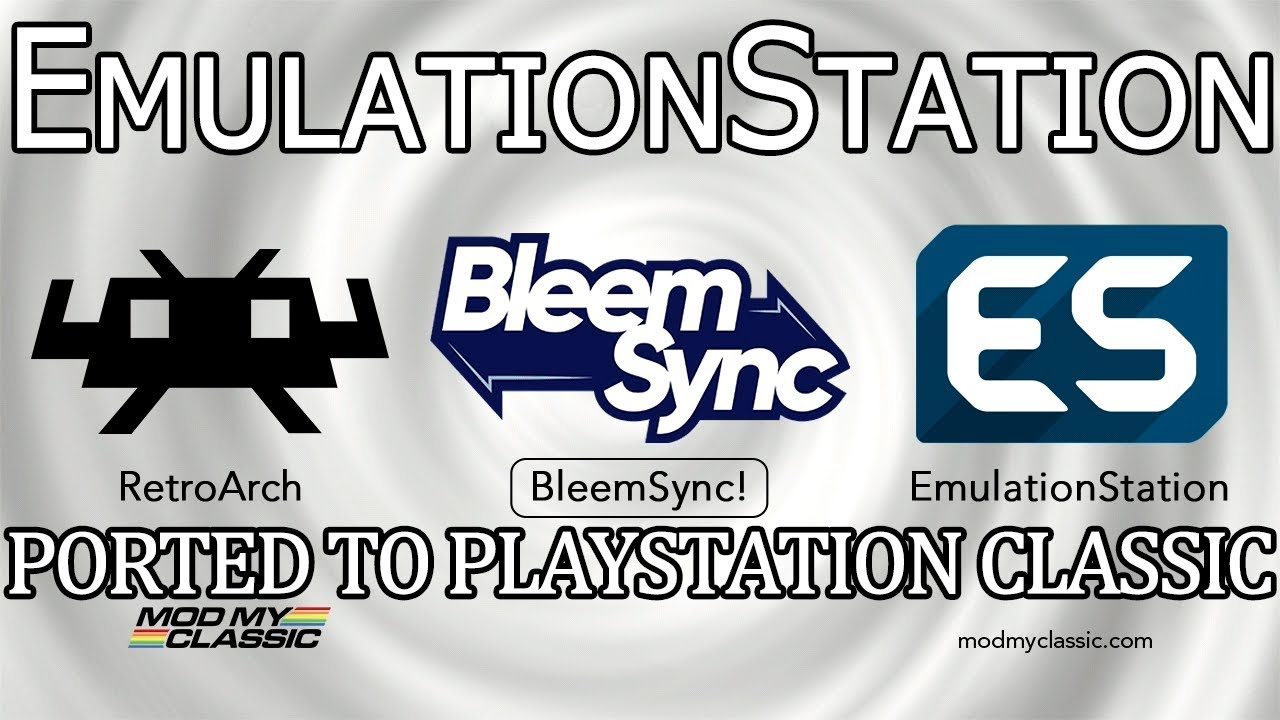 BleemSync | EmulationStation ported to the Playstation Classic