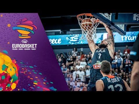 Ευρωμπάσκετ 2017: Δείτε τα highlights του αγώνα Ελλάδα-Γαλλία 87-95