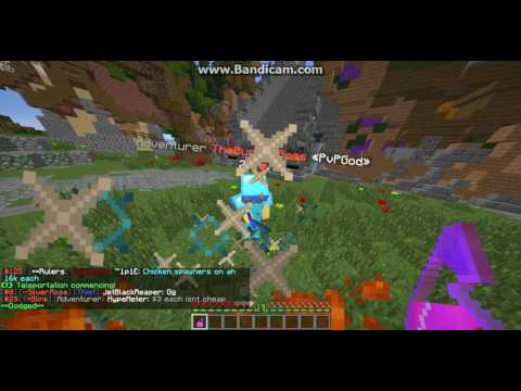 TheBurgerBoss Hacking on Saicopvp {Flying} Zombie realm