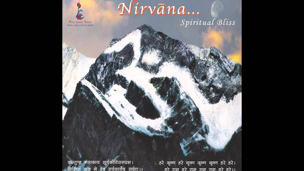 Nirvana the enlightenment of the soul and a state of total peace and happiness