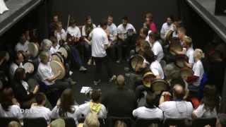 Craiceann Bodhran Festival 2013 - The Gathering Concerto - Inis Oirr, Ireland