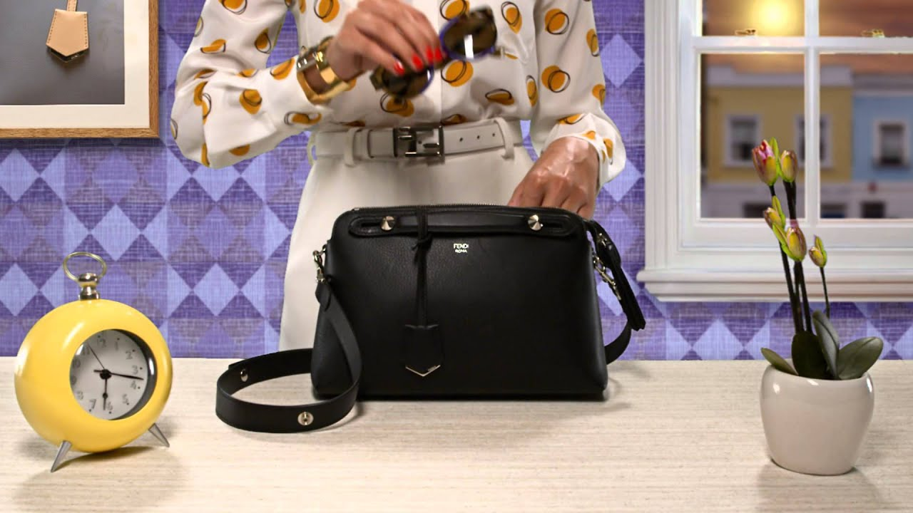 16ac39ed990 Exclusive  A Quirky Teaser of FENDI s By-The-Way Bag - YouTube