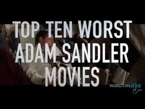 Top 10 Worst Adam Sandler Movies (Quickie)