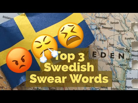 Popular Swedish Swear Words and How to Pronounce Them - Hej Sweden
