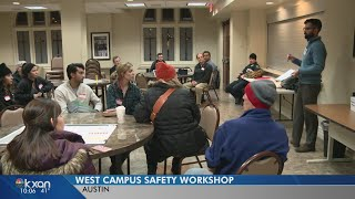 West Campus safety workshop discusses where to put safety lighting