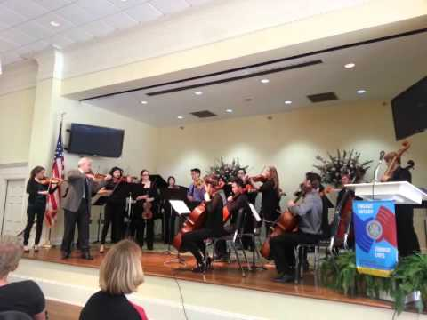 McDuffie Center performs Barber's Adagio for Strings