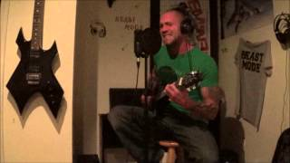 Glycerine - Justin Crimmins - Live Cover - While Recording - For CD & MP3