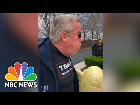Video Shows Trump Supporter Breathing On Senior Citizens