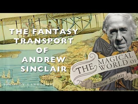 The Fantasy Transport of Andrew Sinclair - Follower of Joseph Cornell