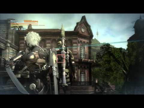 Metal Gear Rising: Revengeance Demo Blade Mode Gameplay Montage 'BUBBLE'N TWEAK' |