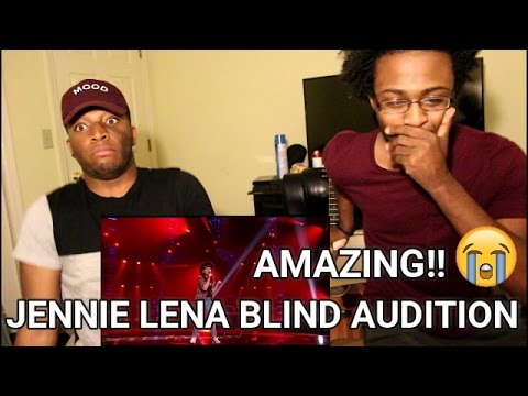 Jennie Lena sings 'Who's Loving You' | Blind Audition | The voice of Holland 2015 (REACTION)