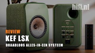 KEF LSX Review - Draadloos Alles-In-Een Systeem