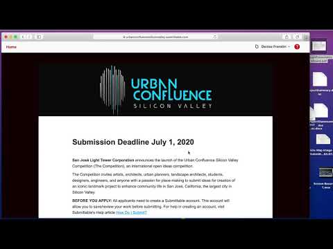 Urban Catalyst Silicon Valley – Submission Tutorial
