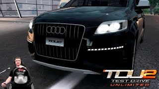 Соний проходит лицензию B3 | Покупка Audi Q7 V12 TDI quattro | Прохождение Test Drive Unlimited 2