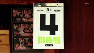 MBS毎日放送  クロージング・オープニング 2018年07月09日