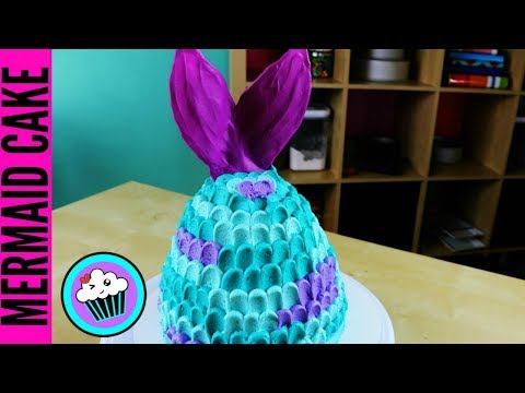 EASY Mermaid Tail Cake   Pinch of Luck