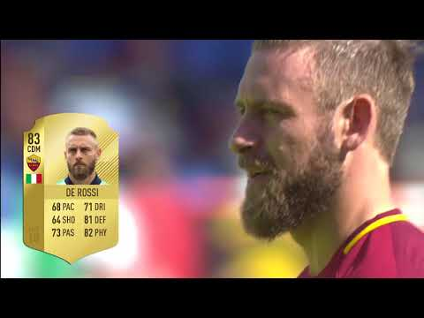 Top 10 Roma Ratings in FIFA 18 Ultimate Team
