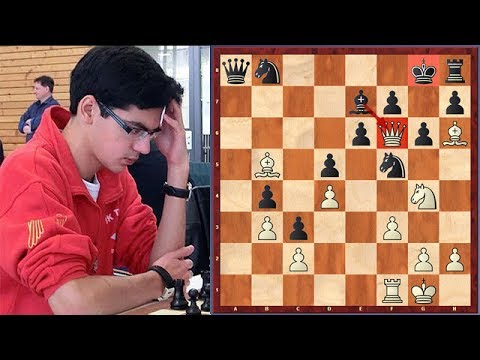 """20 Moves! Giri Decided To Punish Kramnik For A """"Dubious"""" Move! The Result?"""