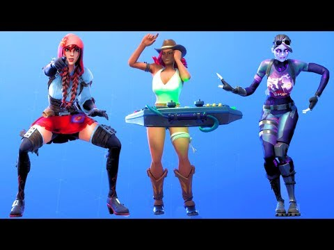 Fortnite All Dances Season 1-6 Updated to Drop The Bass