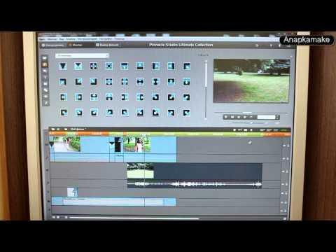 Видеоуроки по Pinnacle Studio 16,17, 18 ,19 - YouTube