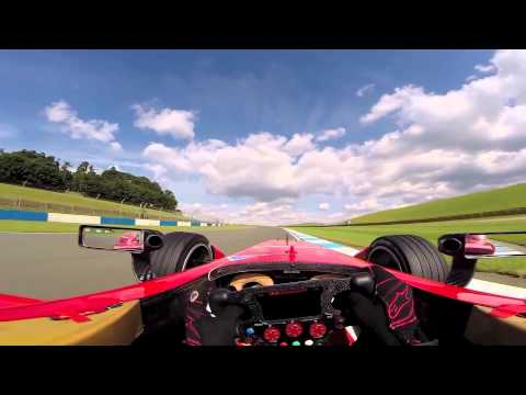 This is what it's like to go full power in an electric racecar